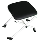 Dynamic Portable Dental Stool, Black. Lightweight: 8 Lb