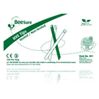 BeeSure High Volume Evacuator Tips - Green, 100/Box. Soft edges with fine