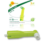 BeeSure Disposable Prophy Angle with SOFT Cup Green 100/Pk. Ribbed and Webbed