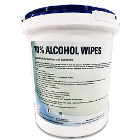"EcoRad 70% Ethyl Alcohol Wipes 7.2"" x 6.4"", 400/Bucket"