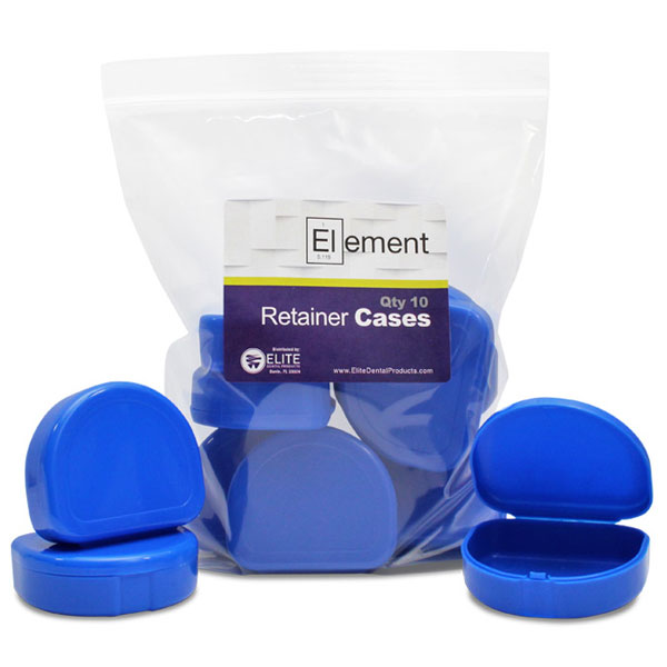 Element Orthodontic Retainer Case - Cobalt Blue,