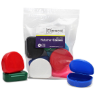 Element Orthodontic Retainer Case - Assorted, Bag of 10 boxes. Big enough