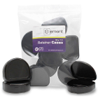Element Orthodontic Retainer Case - Black, Bag of 10 boxes. Big enough to hold