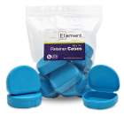 Element Orthodontic Retainer Case - Sky Blue, Case of 100 boxes. Big enough