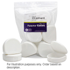 Element Orthodontic Retainer Case - White, Case of 100 boxes. Big enough