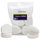 Element Orthodontic Retainer Case - White, Bag of 10 boxes. Big enough to hold