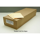 "EPR X-Ray Manilla Coin Envelopes - #3 Brown Paper 2-1/4"" x 4-1/4"", 500/Pk"