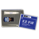 EZ-Fill Epoxy Root Canal Cement Kit. Kit Contains: 7.5 Gram Cement Gel, 8 Gram powder