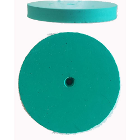 EVE Super Silicon Disk Fine Green 21mm, 100/Pk. Long lasting abrasive. Smudge