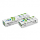 Flow X-Ray #2 DV-57 Speed D periapical X-Ray film in a 2-film vinyl packet, box of 130 packets