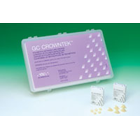 GC Crowntek Central Upper Left (+1.3) - Polymethylmethacrylate Provisional Crowns. Box of 5 Crowns