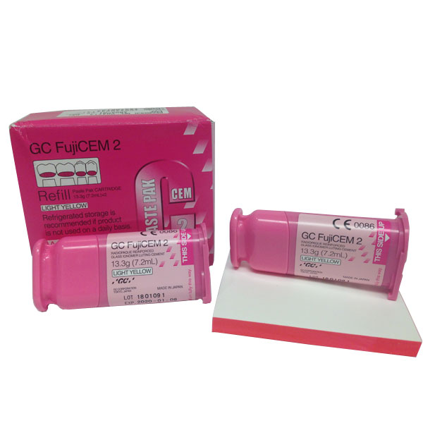 GC FujiCEM 2 refill Old PINK system. EXPORT PACKA