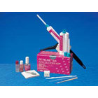 GC Reline Extra Soft VPS Denture Reline Material, Introductory Kit: 1 - 48 ml Cartridge, 6 type 2L
