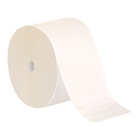 Compact 1-Ply Coreless Bathroom Tissue, White. 3.85