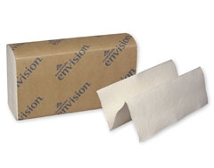 "Envision Multifold Paper Towels - 9.2"" x 9.4"", Wh"