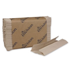 Envision C-Fold Paper Towels, Brown, Economical, 10.1