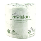 Envision 2-Ply Embossed Bathroom Tissue, White, 4.00