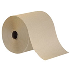 Envision High Capacity Roll Paper Towels, Brown Hardwound Roll, Economical. 7.875