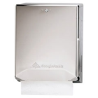 Georgia Pacific Chrome Combination C-Fold/Multifold Paper Towel Dispenser. Steel Construction