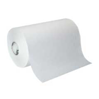 SofPull 1-Ply White Hardwound Roll Paper Towel, High Capacity, Embossed. 400 linear feet per roll