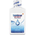 Biotene Dry Mouth Oral Rinse, Fresh Mint, Case of 24 - 2 oz bottles