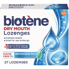 Biotene Dry Mouth Lozenges, Sugar-Free, w/Xylitol, Refreshing Mint flavor, 27