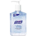 Purell Instant Hand Sanitizer, no water or towels needed, contains