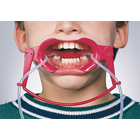 Nola Dry Field System Small, Red. Full Arch Dry Field. Keeps the mouth dry