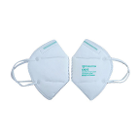 Powecom KN95 Mask, White, 10/Bx. Knitted Earloop protective mask. On April 3