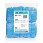 Guardall Non-Skid Shoe Covers, Blue 100/Bag. Fluid Resistant, Spunbonded