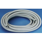 "Hager Worldwide Clean-Flex Saliva Ejector Tubing, Gray, 1/4"" x .375"" x 7' length"