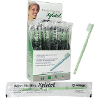 Happy Morning Xylitol Disposable Toothbrushes Impregnated with Mint Xylitol
