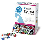 Miradent Assorted flavor XYLITOL chewing gum samples in dispenser box. Flavors