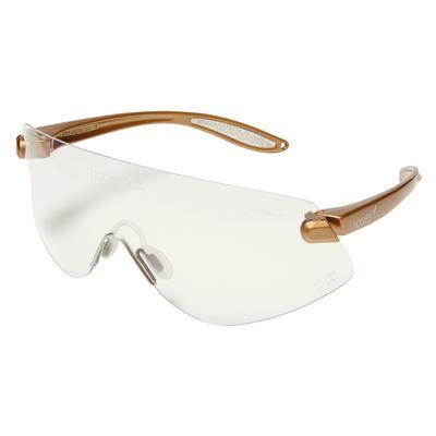 Outbacks Protective eyewear, gold frames and clear lens ophthalmic ...