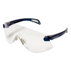 Outbacks Protective eyewear, Child-sized BLUE frames and clear lens ophthalmic