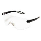 Outbacks Protective eyewear, BLACK frames and clear lens ophthalmic quality