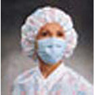 FluidShield Blue Fluid Resistant Mask 40/Bx. Pleat-Style Ear-Loop Procedure