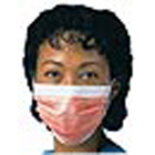 FluidShield Orange Fog-Free Fluid Resistant Procedure Mask 40/Bx. Pleat-Style