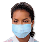 Kimberly-Clark Standard Procedure Mask Blue 50/Box. Facial protection designed