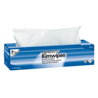 "KimWipes EX-L Delicate Task Disposable Wipers, White, 2-Ply, Pop-Up Box, 15"" x"
