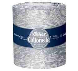"Kleenex Cottonelle 2-Ply 4.09"" x 4.0"" Bathroom Ti"
