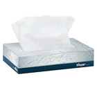 "Kleenex Junior Facial Tissue, 2-Ply, 8.4"" x 5.8"" White, Flat Box, 65 Tissues"
