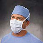 Lite One Surgical Mask - Blue, Pleat-Style with Ties, BFE >= 96% at 3 micron