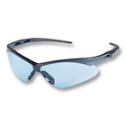 Nemesis Safety Eyewear Safety Eyewear - Light Blue lens, Blue frame. Patented