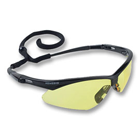 Nemesis Safety Eyewear Safety Eyewear - Amber lens, Black frame. Patented