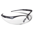 Nemesis Safety Eyewear Safety Eyewear - Clear Anti-Fog Lens with Black Frame
