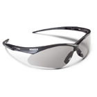 Nemesis Safety Eyewear Safety Eyewear - Smoke Mirror Lens with Black Frame