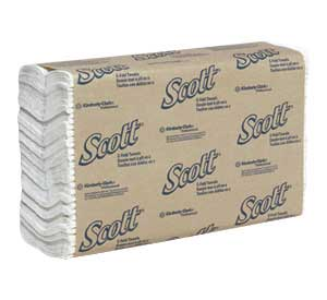 "Scott 10.125"" x 13.15"" C-fold Towels, Case of 240"