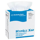 "WypAll X60 Teri Wipers, 9.75"" x 16.5"", Towels are strong enough to wipe off"