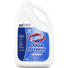 Clorox Odor Defense Air & Fabric Spray refill, 128 fl oz bottle, 4/cs